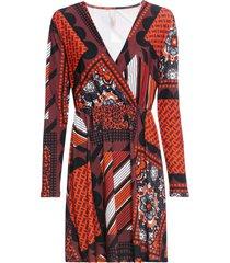abito a portafoglio (arancione) - bodyflirt boutique