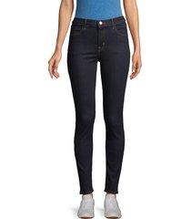 j brand women's maria high-rise skinny jeans - covert - size 23 (00)