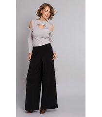 spodnie it-girl czarne