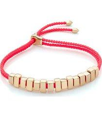 gold linear ingot bracelet