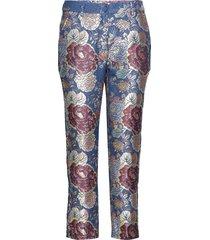 vieola by nbs pantalon met rechte pijpen multi/patroon custommade