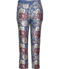 vieola by nbs pantalon met rechte pijpen multi/patroon custommade