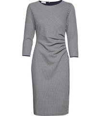 dress knitted fabric jurk knielengte grijs gerry weber