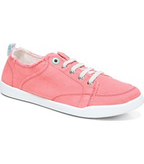 women's vionic beach collection pismo lace-up sneaker, size 6.5 m - blue