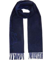 beacon' fringe wool scarf
