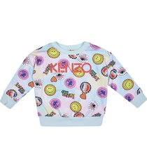 kenzo multi-print logo sweatshirt