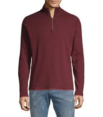 elliot half-zip cotton sweater