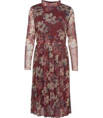 dress knälång klänning röd sofie schnoor