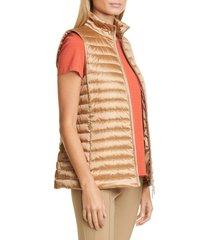 women's lafayette 148 new york scout metallic down vest
