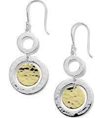 ippolita chimera classico small drop earrings in silver/gold at nordstrom