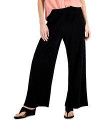 alfani wide-leg pull-on pants, created for macy's
