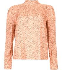 blouse met bloemenprint femy  roze