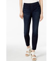 eileen fisher petite organic cotton-blend pull-on jeggings