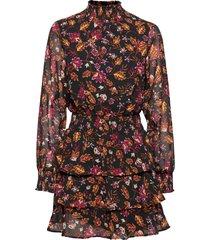 alexa turtleneck dress kort klänning svart gina tricot