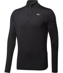 chaqueta running reebok essentials - negro