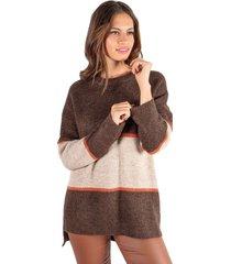 sweater oxford café beige mdk