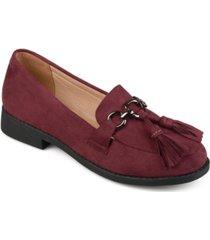journee collection women's capri loafer women's shoes