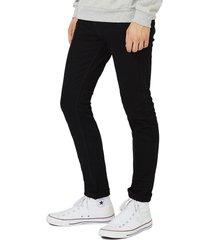 men's topman skinny stretch jeans, size 38 x 32 - black