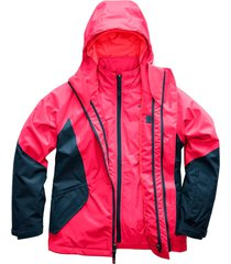 chaqueta kira triclimate rosado the north face
