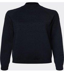 sweater cuello perkins azul tommy hilfiger
