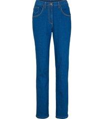 jeans i mom-passform med bekväm midja