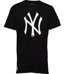 team logo tee neyyan t-shirts short-sleeved svart new era