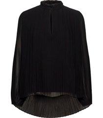 lady ls blouse 11185 blouse lange mouwen zwart samsøe samsøe