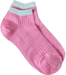 women's italian silky blend ankle socks