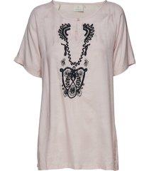 isabell blouse blouses short-sleeved rosa kaffe