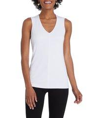 women's nic+zoe soft ease tank top, size xx-large - white