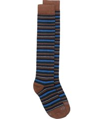 altea striped socks - brown