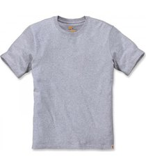 carhartt t-shirt men workwear non-pocket s/s heather grey-xs