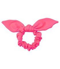 elástico de cabelo neon anitta - rosa neon