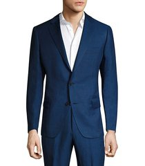 collection by samuelsohn classic-fit silk-blend double button jacket