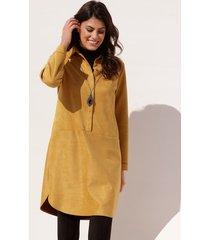 jurk amy vermont geel