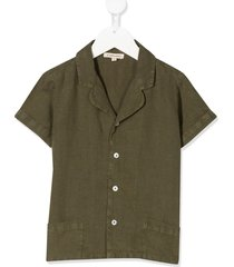 caramel holborn short sleeved shirt - green