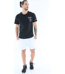 pantaloneta con cierre trasero deportiva - hombre