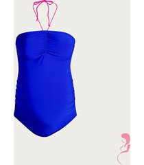 anita zwangerschapsbad[ak / positiebadpak samoa blue met bandeaucup