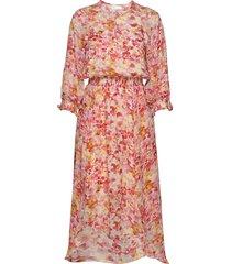 hayden dress knälång klänning rosa inwear