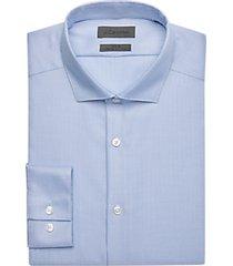 calvin klein infinite blue slim fit dress shirt