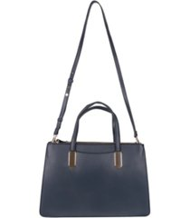 alfani multi zip satchel, created for macy's