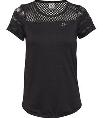core fuseknit tee t-shirts & tops short-sleeved svart craft