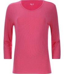 camiseta mujer minilunares color rosado, talla l