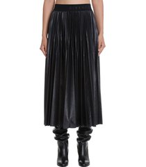 givenchy skirt in black polyester