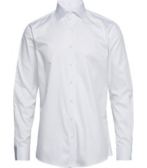 hawk slim shirt skjorta business vit oscar jacobson