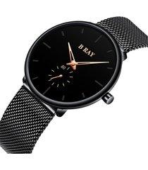reloj b ray 9002 minimal - dorado