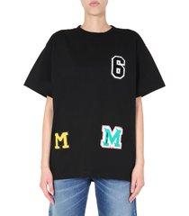 mm6 maison margiela oversize fit t-shirt