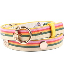 tory burch reversible leather bracelet