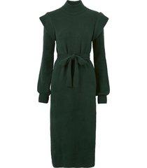 klänning objmanni ls knit dress