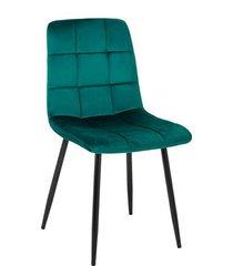 krzesło tapicerowane aruba ciemno zielone